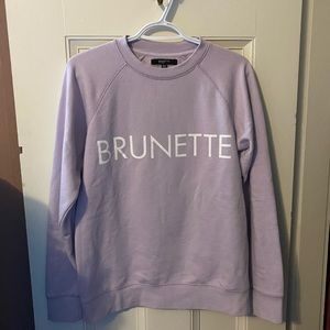 Sweaters - BRUNETTE The Label Brunette crewneck sweatshirt